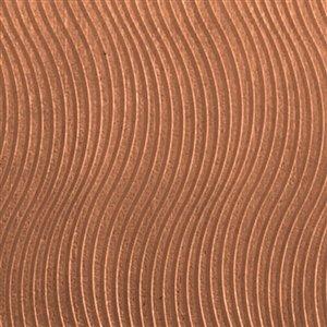 Cool Tools - Textured Metal - Mini Wave - Copper 20 Gauge (Make Waves Gauges)