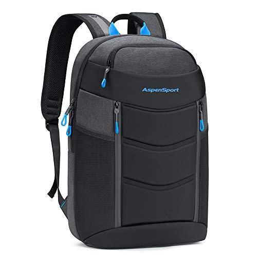ASPENSPORT Lightweight Laptop Backpack TSA-Friendly fit 17 for Men Daypack