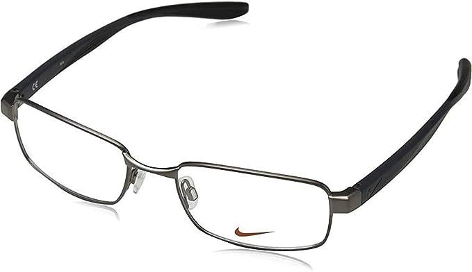 Doncella Condición previa Elevado  Amazon.com: Eyeglasses NIKE 8175 075 Brushed Gunmetal: Clothing