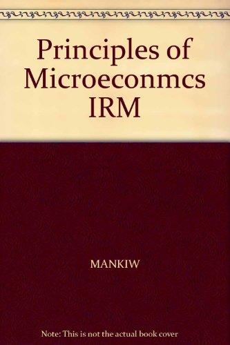 Principles of Microeconmcs IRM