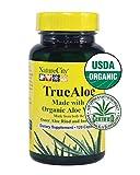 TrueAloe 100% Organic Aloe Vera Supplement – 120 Capsules per bottle Review
