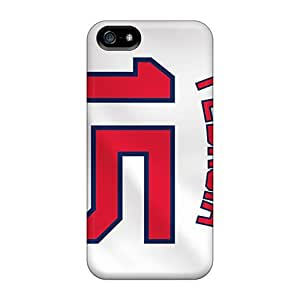 Protective Tpu Case With Fashion Design For Iphone 5/5s (boston Red Sox)