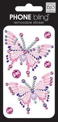 ideas Phone Removable Embellishment Butterflies