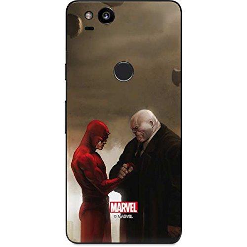 (Daredevil Google Pixel 2 Skin - Daredevil and Kingpin In Cemetary   Marvel & Skinit Skin)