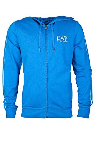 EA7 by Emporio Armani Men's Zip Up Sweat Top 2742554A231 Xl royal
