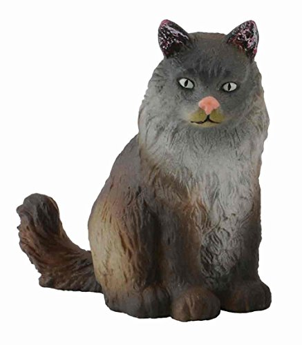 Collecta Norwegian Forest Cat (Sitting)