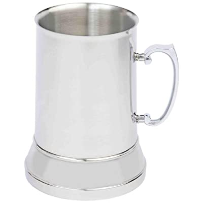 Maxam KTBMUG1 Stainless Steel Beer Mug,, 34 oz