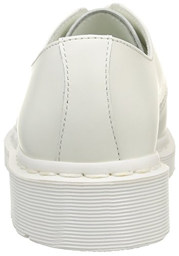 White Mixte 1461 Martens Dr Adulte Mono Derby White Smooth Blanc 5OzqCwqY