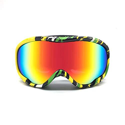 327d56572f99 FRFG Ski Sports Sunglasses Ski Goggles Double Anti-Fog Goggles Hiking  Goggles Men and