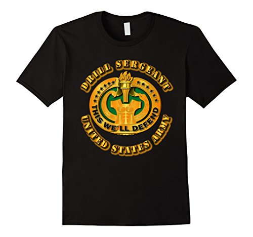- Mens Army Drill Sergeant Tshirt 3XL Black