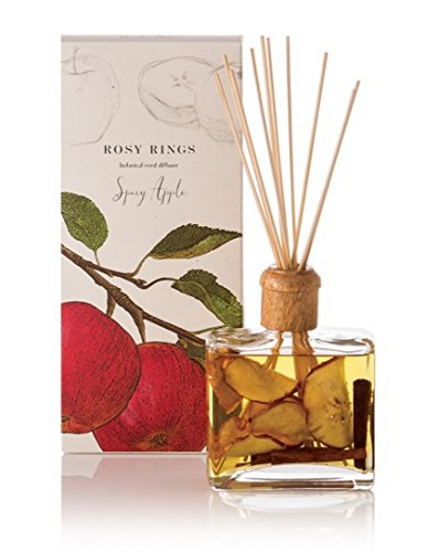 Rosy Rings Spicy Apple Reed Diffuser 13 oz by Rosy Rings