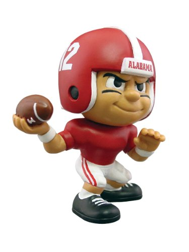 Ncaa Figurine (Lil' Teammates Alabama Crimson Tide Quarterback NCAA Figurines)
