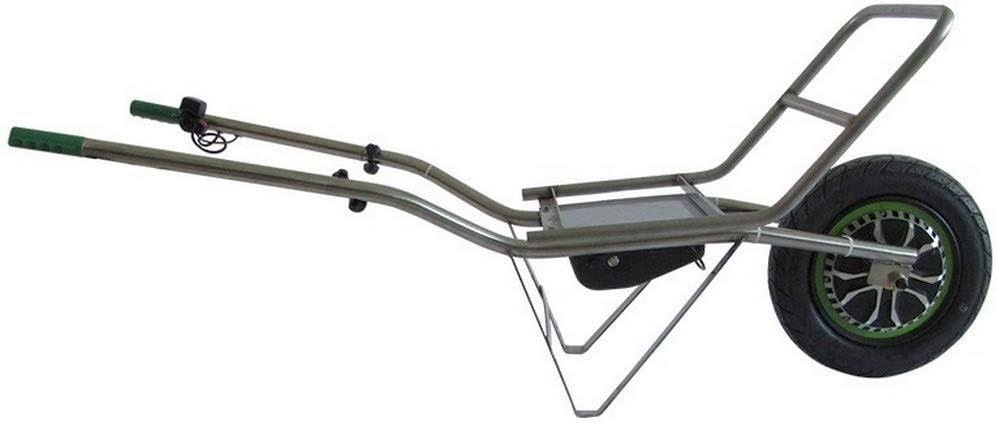 Smartwiel Carretilla eléctrica con portador Batería de iones de litio / 500 W / Carga máx: 150Kg Carretilla con rueda para jardinería, para madera y material voluminoso