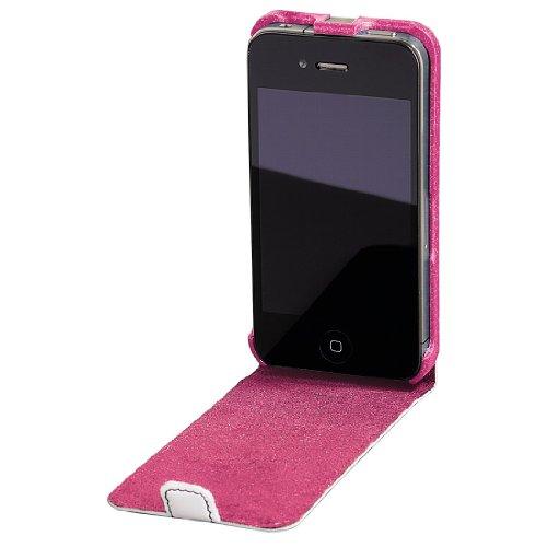 Hama 108536 Liquid WOOD CASE iPhone 4 White/Blackberry