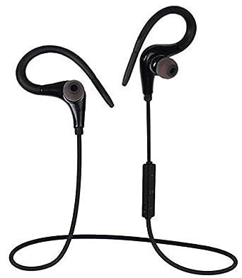 Toproad deportes estéreo de auriculares Bluetooth gancho para la oreja Auriculares con Bluetooth auriculares inalámbricos auriculares