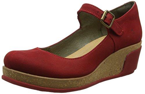 Jane Cu Mary de El as Rojo Zapatos Tibet Naturalista Mujer 5004 xqwpI0g
