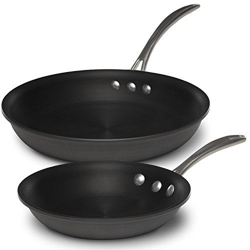 Calphalon 1947202 Commercial Omelet Combo, 8 inch, 10 inch, Black