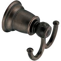 Moen YB5403ORB Kingsley Double Robe Hook, Oil Rubbed Bronze by Moen