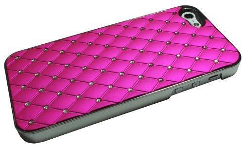 Avcibase 4260310648644 Glitzer Strass Bling harte Schutzhülle für Apple iPhone 5 pink