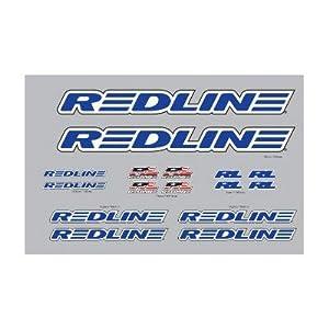 Complete Bike Redline Bmx Bicycle Decal Set BMX