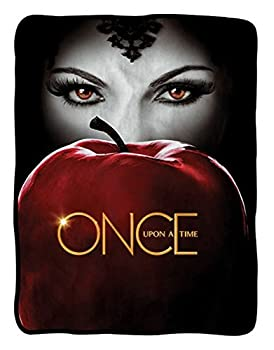Once Upon a Time Apple Fleece Blanket