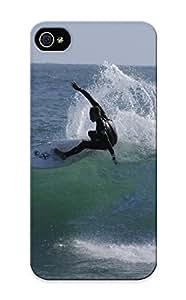 Exultantor Mkvcjj-3598-pfokcvn Case For Iphone 5/5s With Nice Surfing Surf Ocean Sea Waves Extreme Surfer (51) Appearance Kimberly Kurzendoerfer