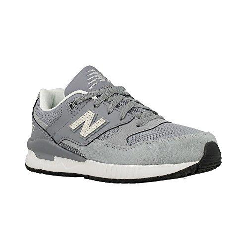 New Balance - 530 - KL530GXG - Farbe: Grau-Weiß - Größe: 38.0
