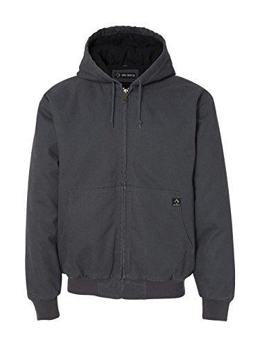 DRI Duck Men's 5020 Cheyenne Hooded Work Jacket, Charcoal, XX-Large ()