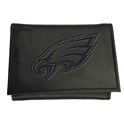 Philadelphia Leather Eagles - Team Sports America Philadelphia Eagles Team Logo Leather Tri-Fold Wallet