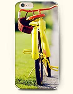 OFFIT iPhone 6 Plus Case 5.5 Inches Yellow Bike