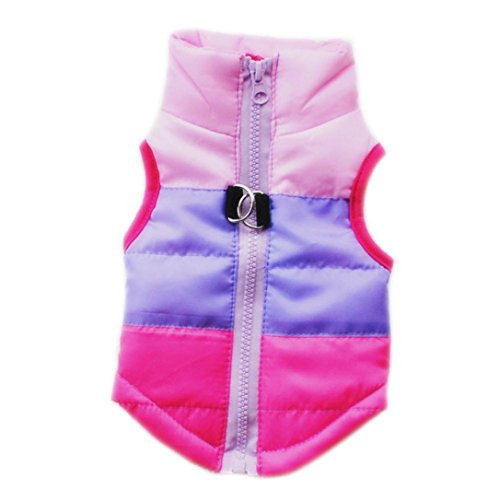 Lab Coat Costume For Dog (Dog Coat, Howstar Pet Puppy Clothes Jacket Winter Apparel Costume (Hot Pink, M))