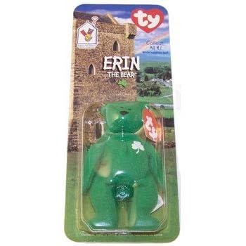 Amazon.com  1 X TY Erin the Bear McDonalds Teenie Beanie - NEW ... dac4fd2e78b2