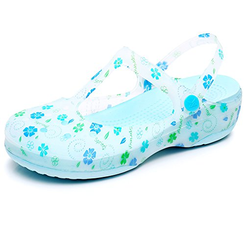 De Sandalias 8 Color 225 Zapatos 1 Cuña Agujeros Playa UK4 Tamaño Antideslizante 1 con 5 Pantofola US5 Las Mujeres PENGFEI Verano Zapatillas Colores EU35 dxBwOqYZd