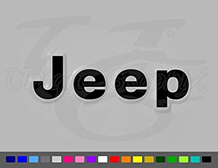 263380ce Amazon.com: Jeep Wrangler YJ CJ Vinyl Fender Side Decals 1 Pair: Everything  Else