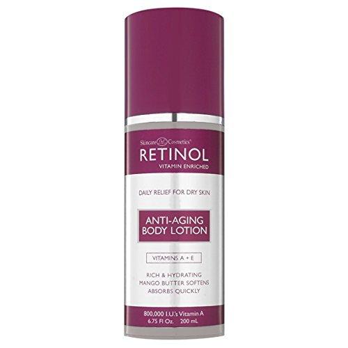 Skincare LdeL Cosmetics Retinol Body Lotion, 6.75 Ounce
