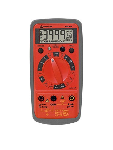 Amprobe 35XP-A Compact DMM with Temperature, Frequency, and Capacitance by Amprobe