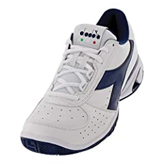 6-Month Durability GuaranteeDiadora Men`s S Star K Elite AG Tennis Shoes offer outstanding on-court performance and a traditional fit and feel. This starts with the shoe`s kangaroo leather upper and slightly-wide fit. Overall, the S Star K El...