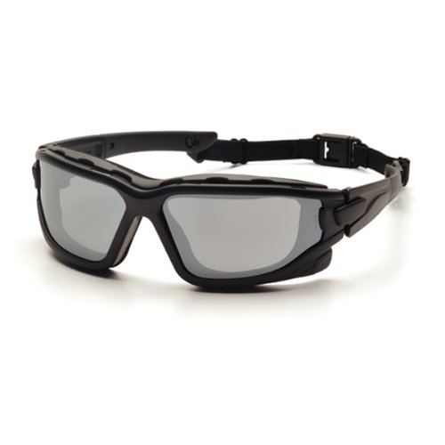 Lens Gray Body - Pyramex I-Force Sporty Dual Pane  Anti-Fog Goggle,Black Frame/Gray Anti-Fog Lens