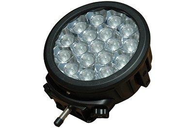 90ワット高輝度LEDライトバー – 18、5-watt LED – 8,334ルーメン – Extreme耐久性( -spot-black ) B00FMHQITS