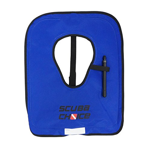 Scuba Choice Adult Royal Blue Snorkel Vest w/Crotch Strap, Size Large