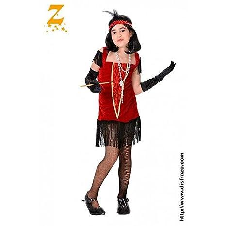 Disfraz charlestón niña. Talla 5/6 años.: Amazon.es: Productos ...