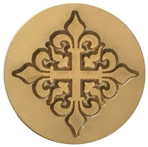 (Fleur-de-lis Cross Fleur-de-LYS Design 1