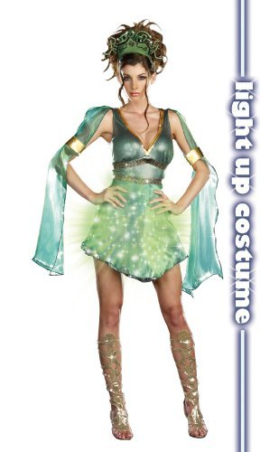 [Mythical Medusa - Large - Dress Size 10-14] (Grecian Sandals Costume)