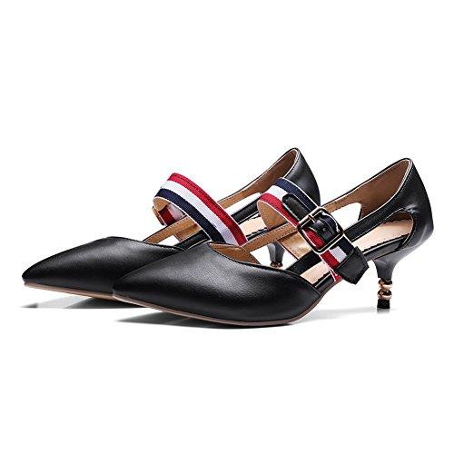 Sandales Compensées Femme Noir BalaMasa Noir 5 EU 36 apqnR4RO
