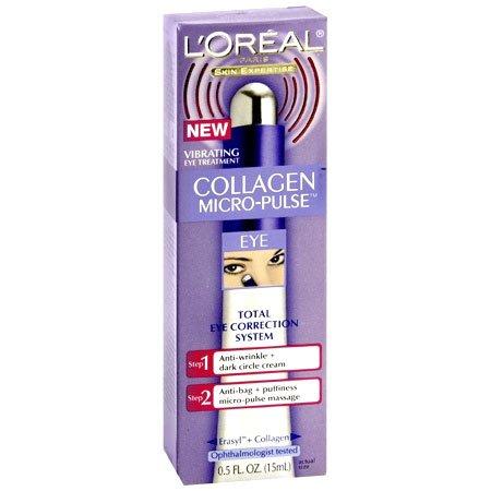 L'Oréal Paris collagène Micro-Pulse système de correction des yeux, 0,5-Fluid Ounce
