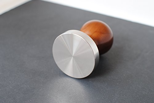 New Espresso Coffee Tamper Espresso tamper rose wood and stainless steel Flat Base 58mm