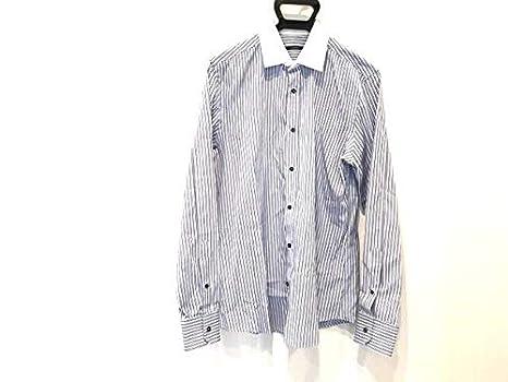 4b90817f9a3b Amazon | (グッチ)GUCCI シャツ 長袖シャツ メンズ ライトブルー×白 ...