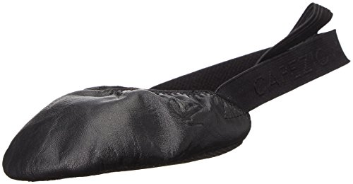 Capezio Turning Pointe 55 Dance Shoe, Black, Medium/8-9.5 M US (Pointe Shoes Black)