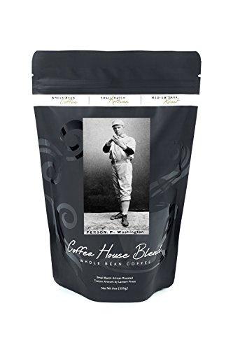 Washington Statesmen - Alex Ferson - Baseball Card (8oz Whole Bean Small Batch Artisan Coffee - Bold & Strong Medium Dark Roast w/ Artwork)