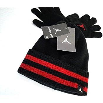 Amazon.com: Nike Jordan Boys Winter Cuffed Beanie & Gloves